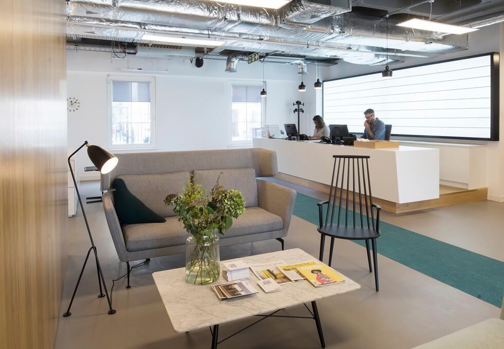 Trafalgar Place BN1 office space – Reception