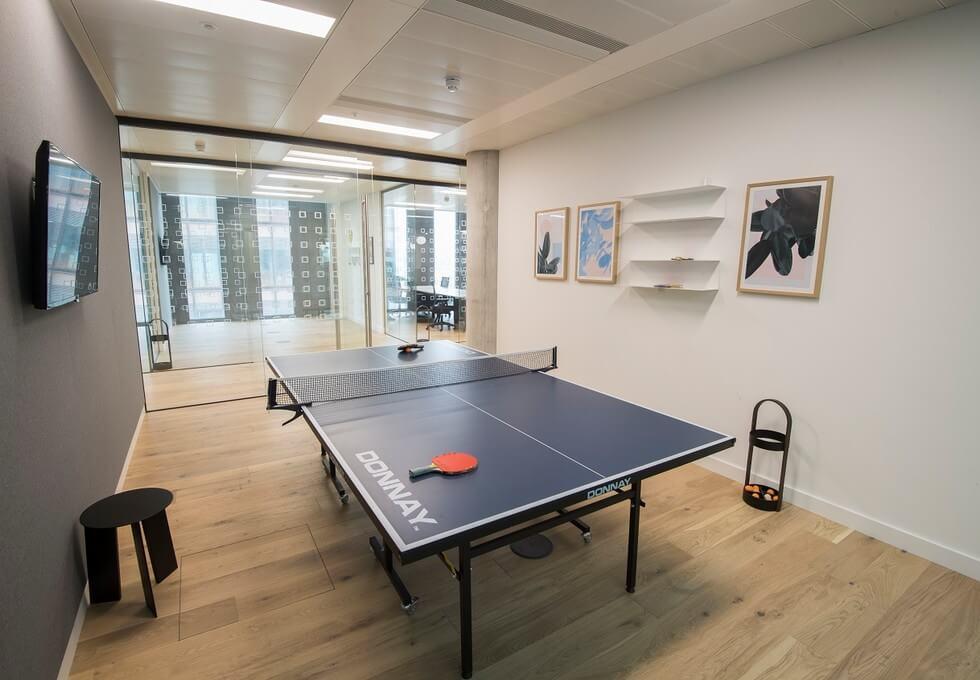 Wood Lane W12 office space – Break Out Area