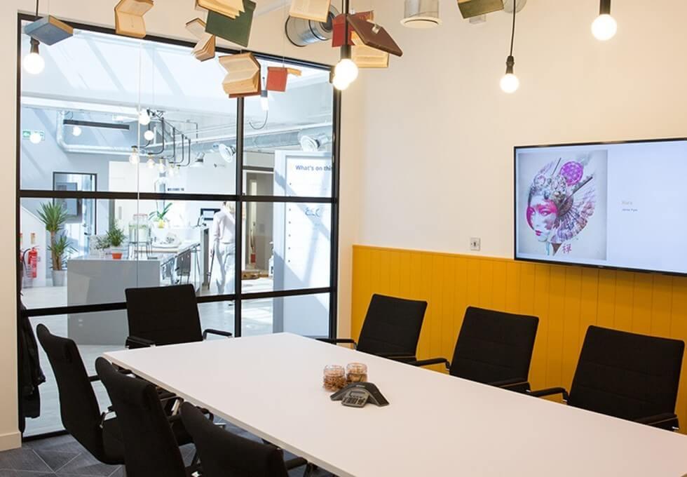 Jerusalem Passage EC1 office space – Meeting/Boardroom