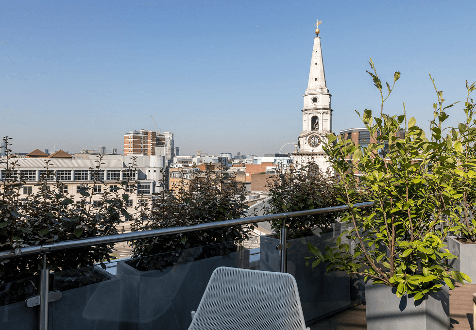 Long Lane SE1 office space – Outdoor Area