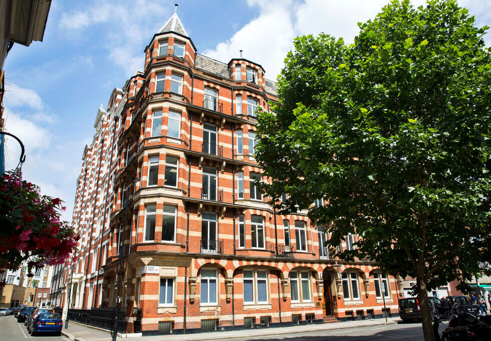 Palace Street SW1 office space – Building External