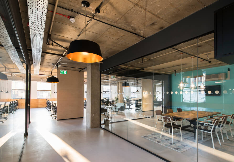 Leman Street E1 office space – Hallway