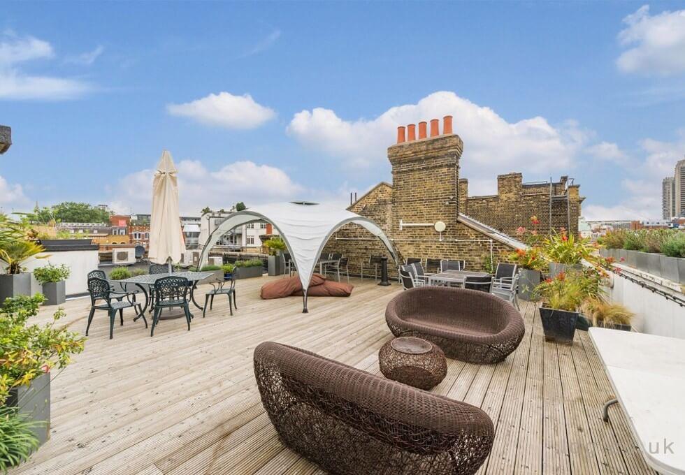 Charterhouse Street EC1 office space – Outdoor Area