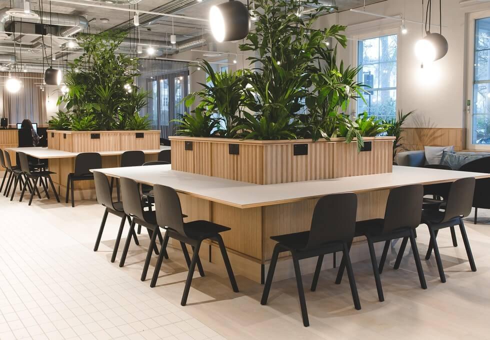 Eccleston Square SW1 office space – Break Out Area