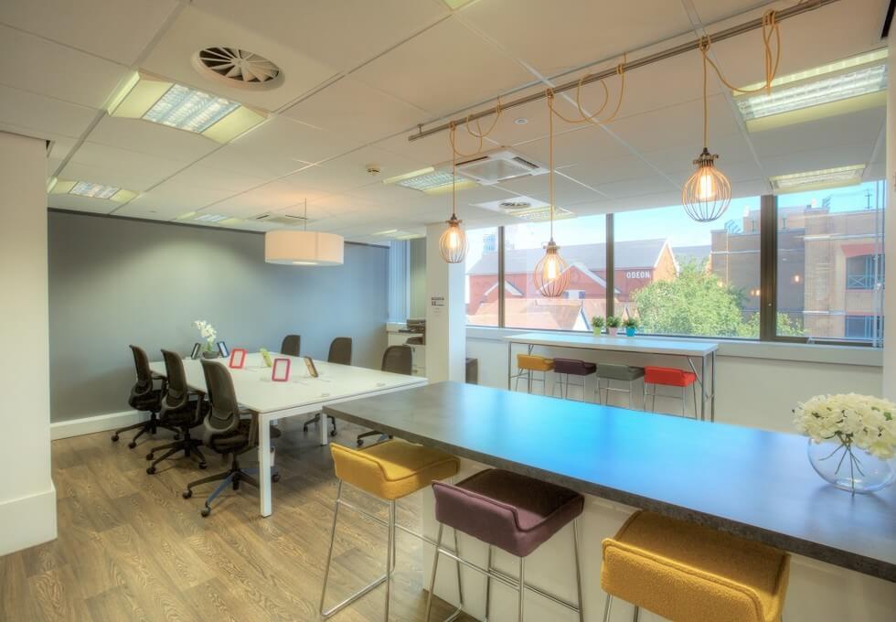 Baddow Road CM1 office space – Break Out Area