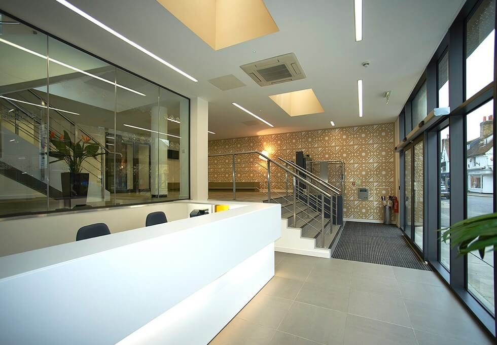 Baddow Road CM1 office space – Reception