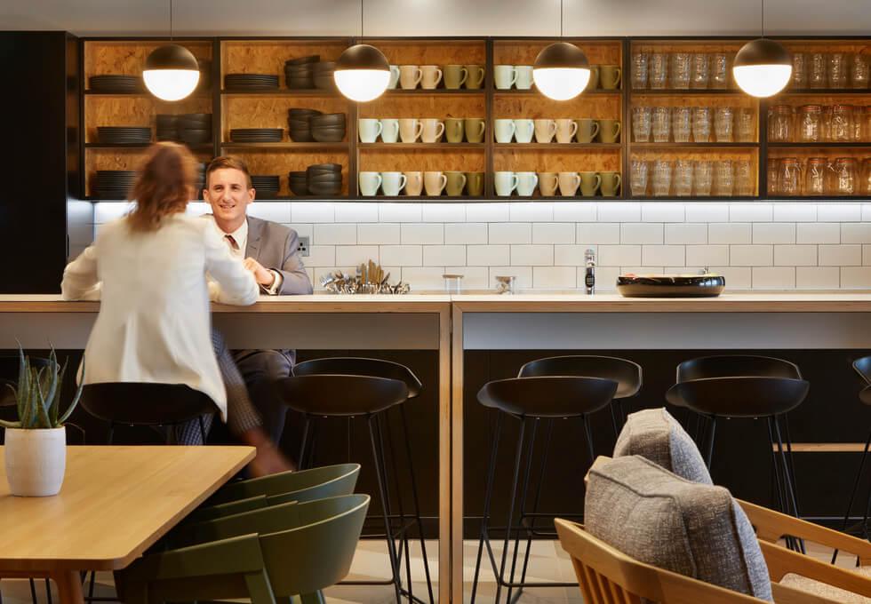 Suffolk Street Queensway B1 office space – Kitchen