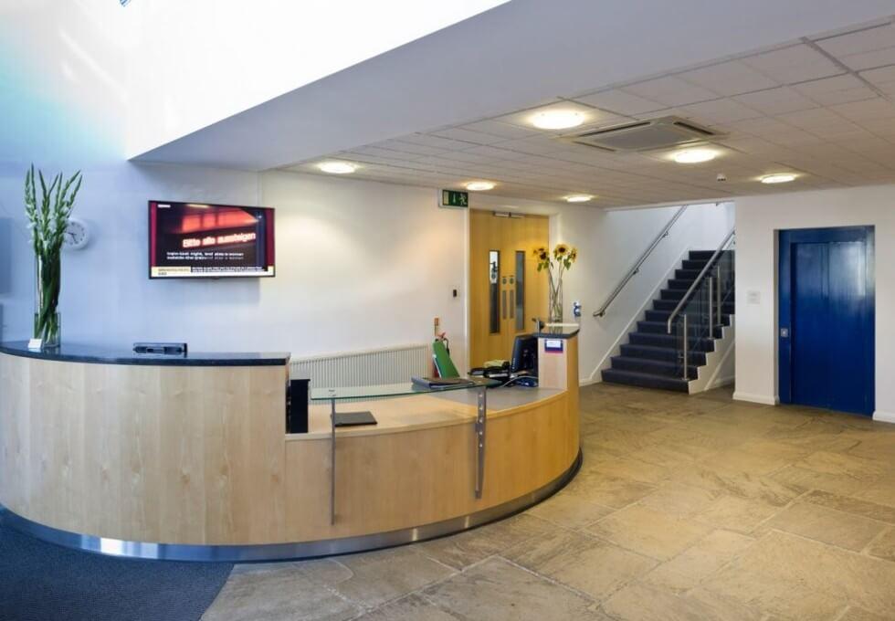 York Road YO7 office space – Reception