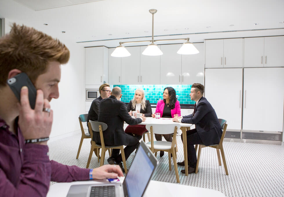 Knightsbridge SW1 office space – Kitchen