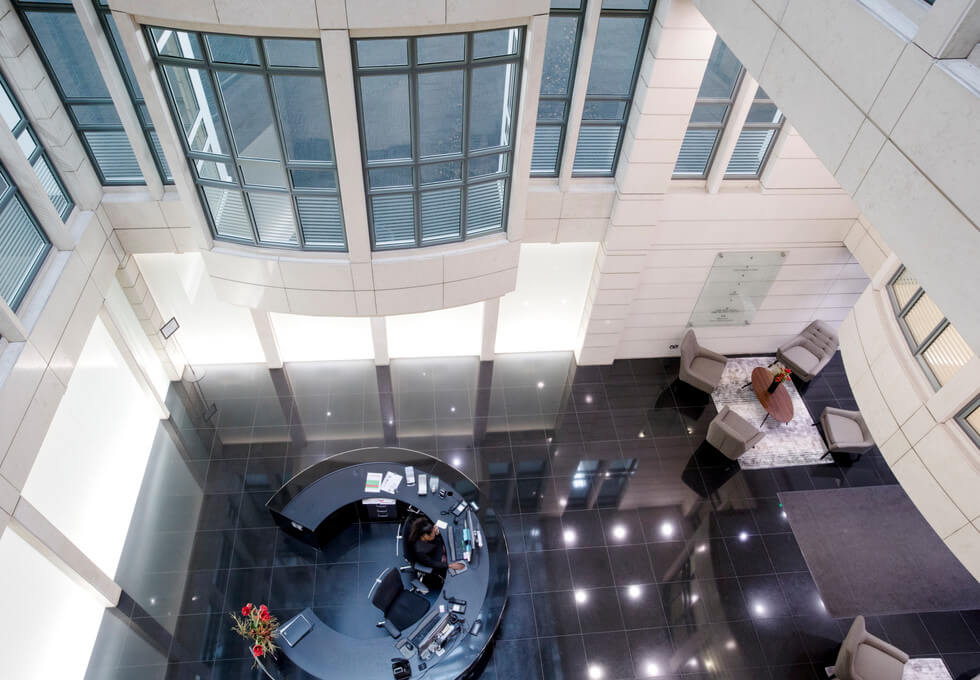 Knightsbridge SW1 office space – Atrium
