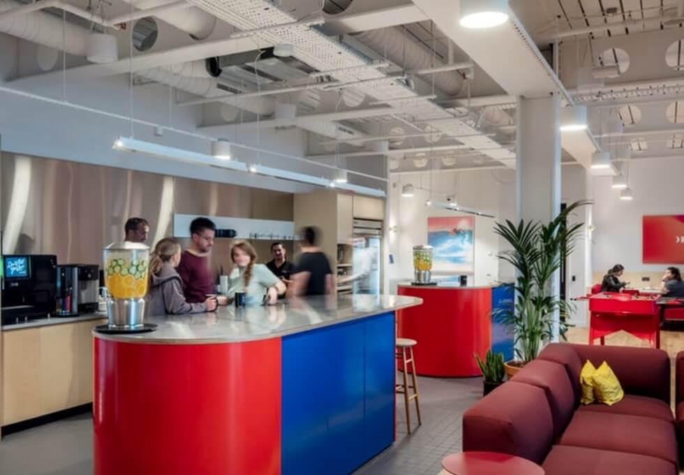 York Way WC1 office space – Kitchen