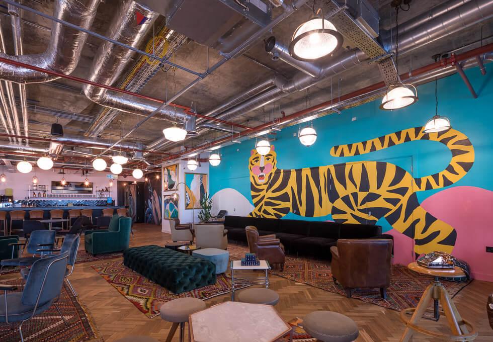 Whitechapel E1 office space – Break Out Area