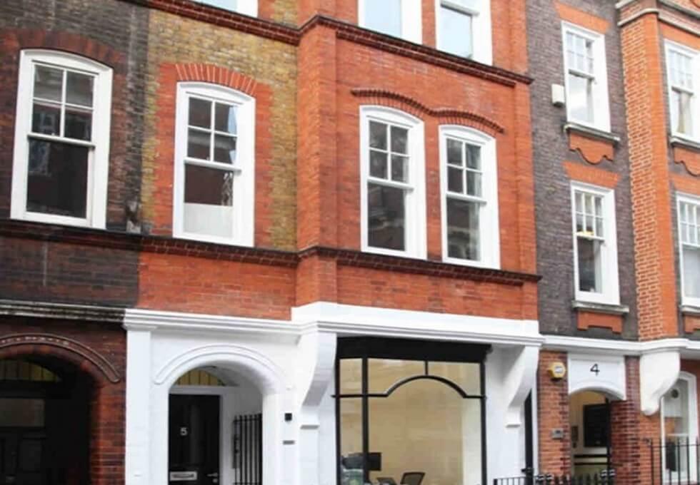 Margaret Street W1 office space – Building External