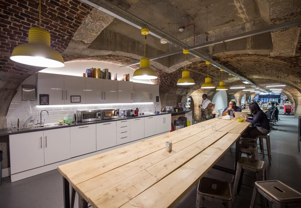 Porters Walk E1 office space – Kitchen