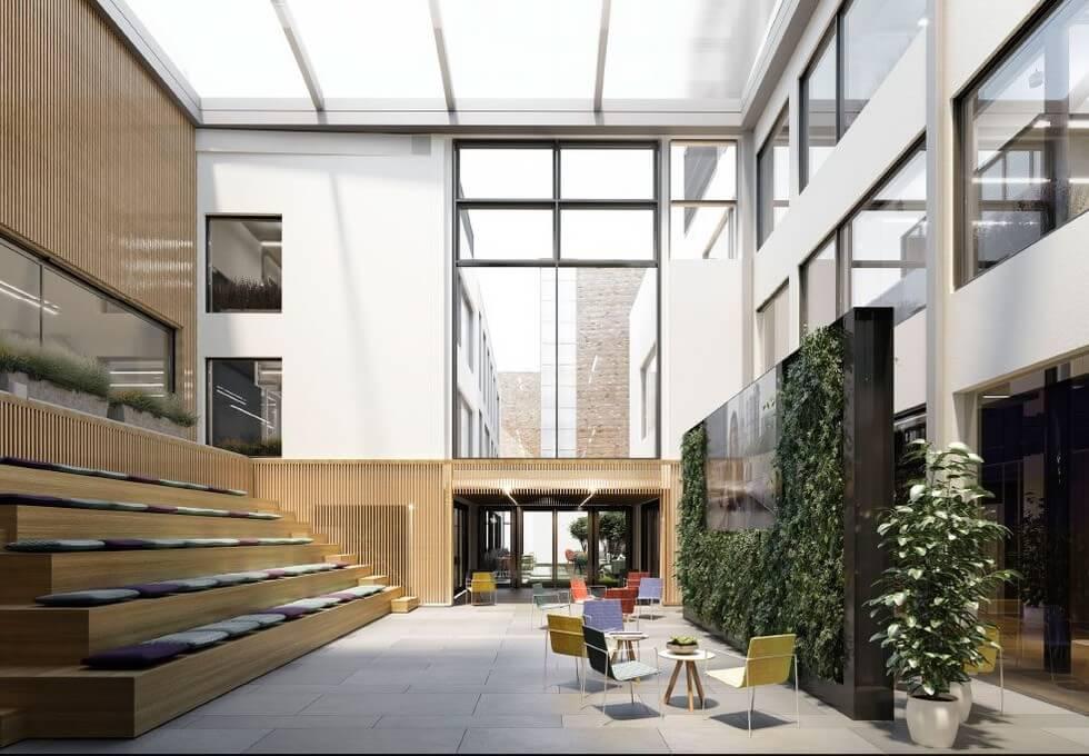 Folgate Street EC1 office space – Break Out Area