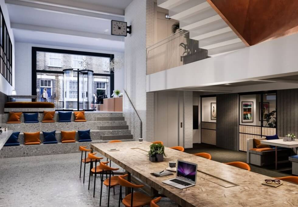 Princelet Street E1 office space – Break Out Area
