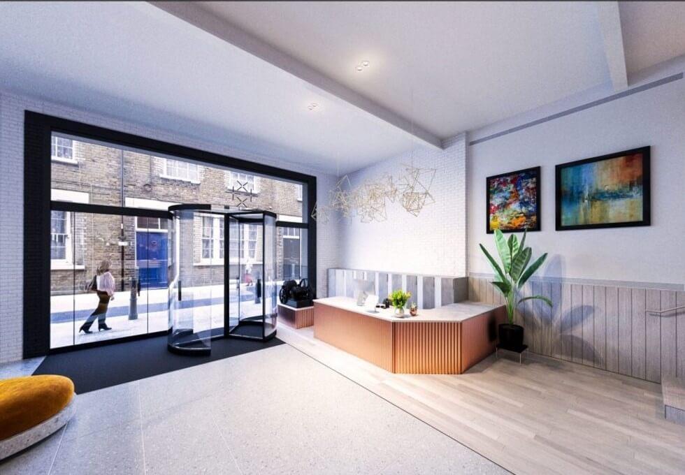 Princelet Street E1 office space – Reception