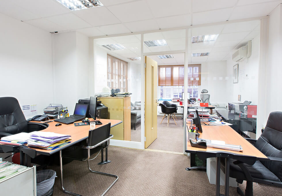 Kensington Church Street W8 office space – Private Office (different sizes available)