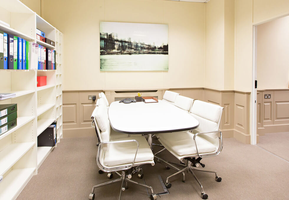 Kensington Church Street W8 office space – Meeting/Boardroom