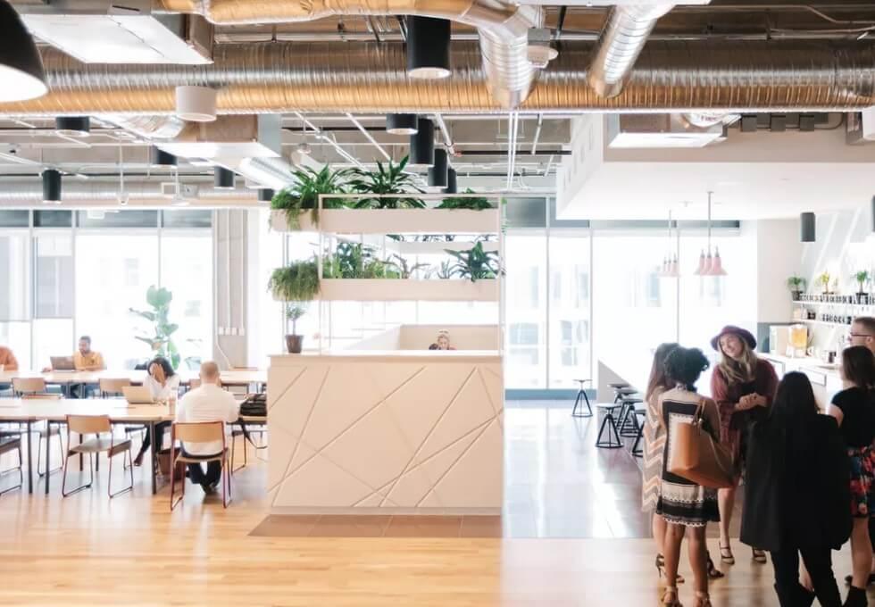 Moorgate EC2 office space – Break Out Area