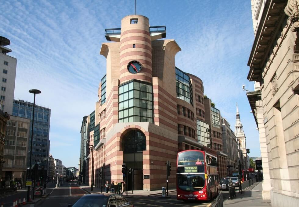Poultry EC2 office space – Building External
