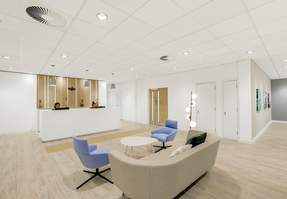 Innova Park EN2 office space – Reception