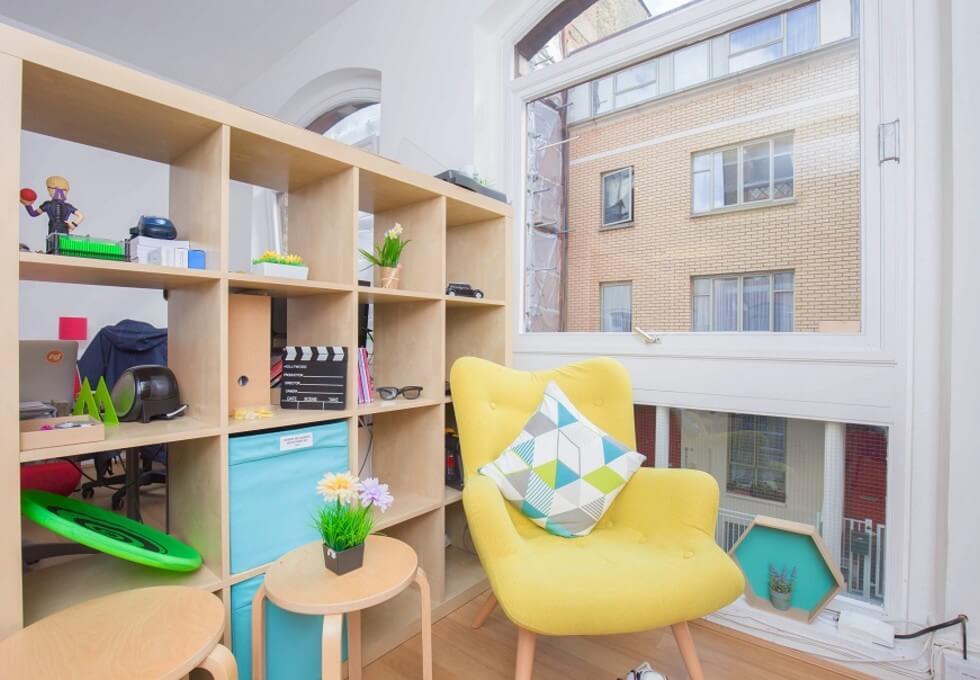 Little Russell Street WC1 office space – Break Out Area