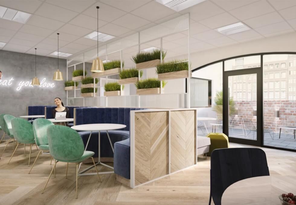 Mandeville Place W1K office space – Break Out Area