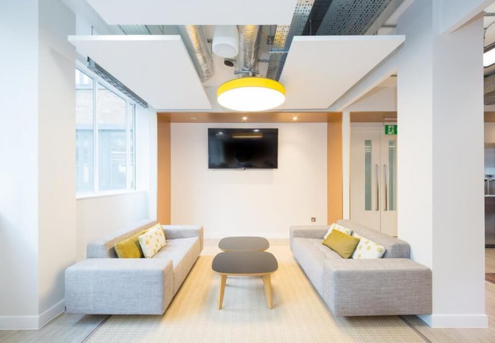 Bernard Street WC1 office space – Break Out Area