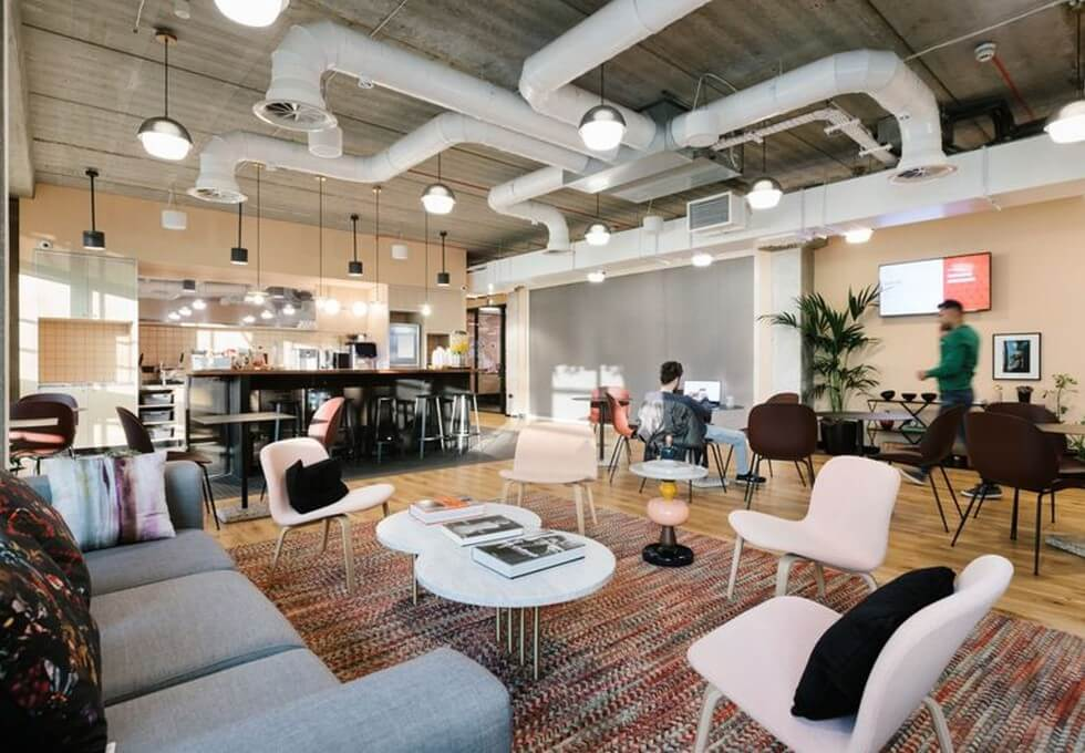 Blackfriars Road SE1 office space – Break Out Area