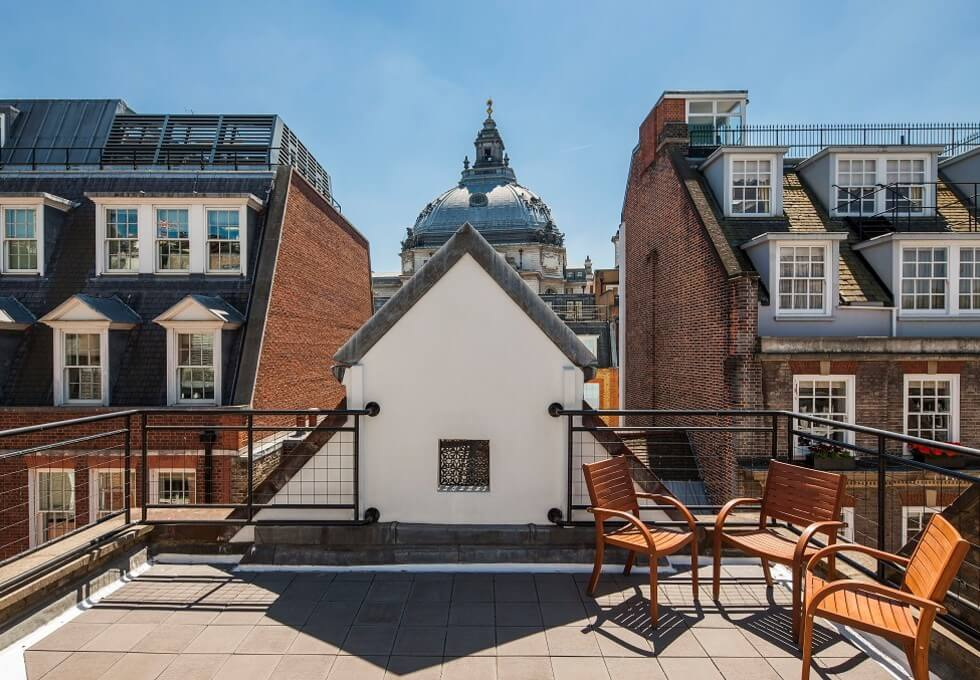 Old Queen Street SW1 office space – Outdoor Area
