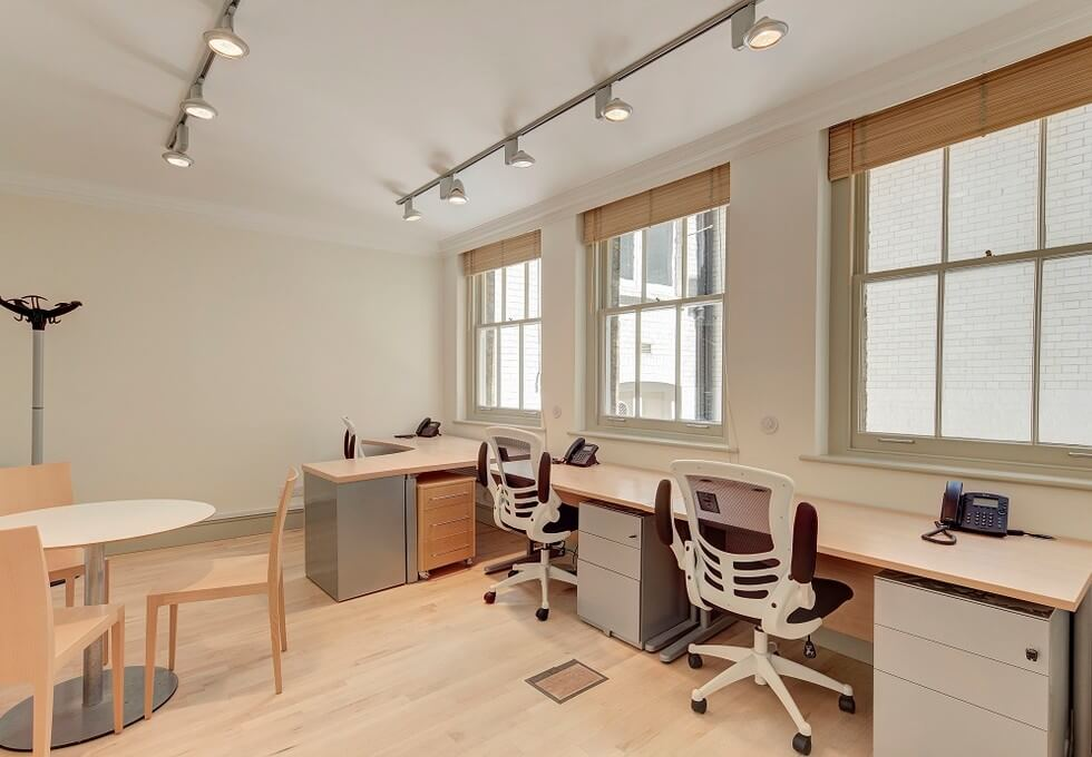 Old Queen Street SW1 office space – Private Office (different sizes available)