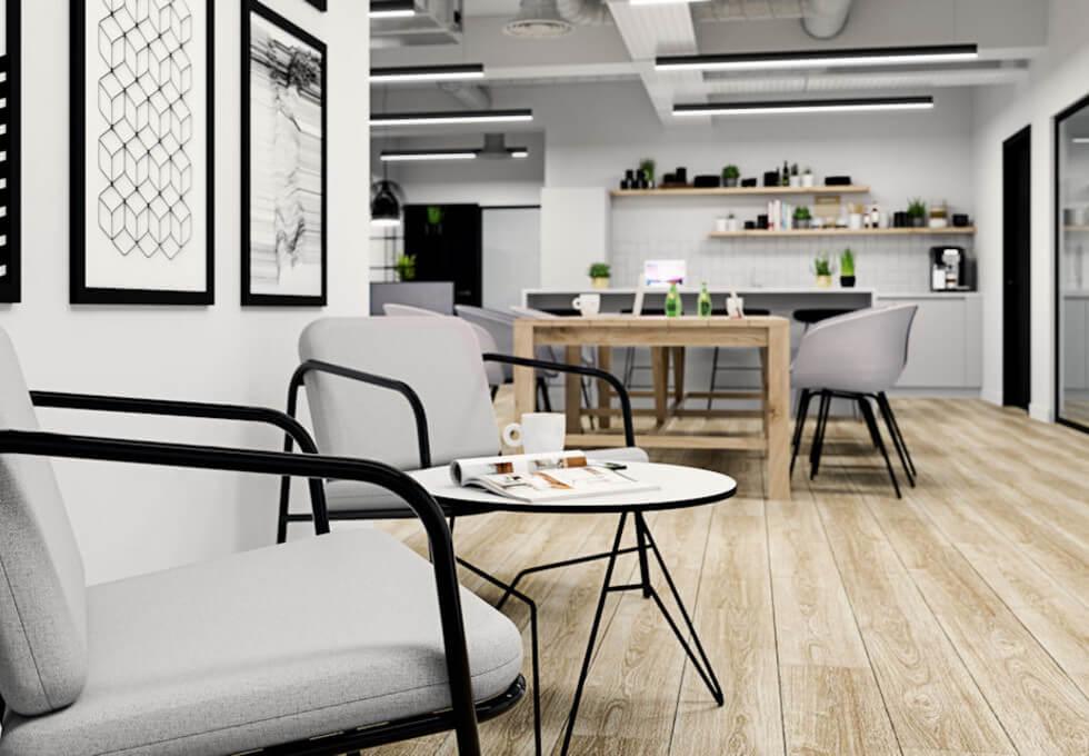 Newman Street W1 office space – Break Out Area