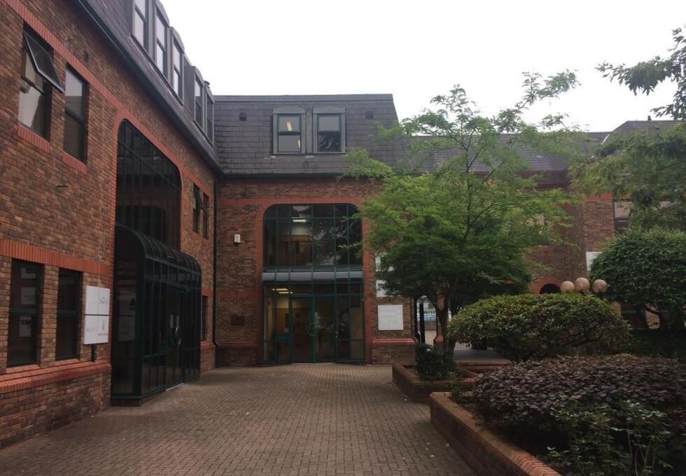 London Road BR8 office space – Building External