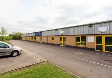 Roman Way LN1-LN6 office space – Building external