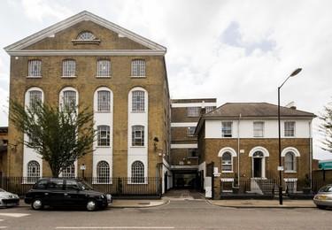 Lomond Grove SE5 office space – Building external