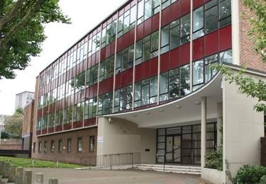 Bath Avenue WV1 office space – Building external