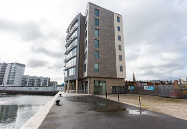 North East Quay PL1 office space – Building external