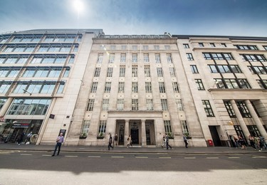 St Martin's Le Grand EC1 office space – Building external