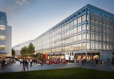 Wood Lane W12 office space – Building external