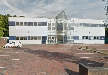 Mark Road HP1 office space – Building external