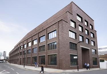 Cremer Street N1 office space – Building external