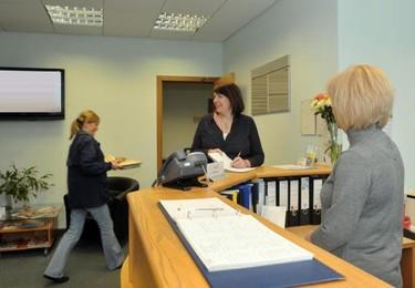 Laurelhill FK8 office space – Reception