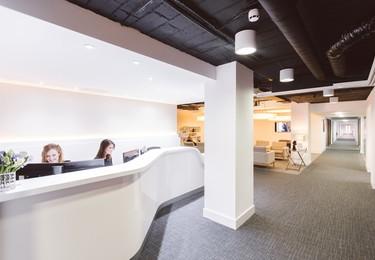 Knightsbridge Green SW1 office space – Reception