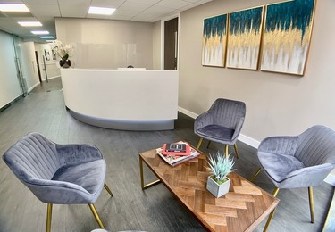 St Johns Lane EC1 office space – Reception