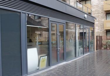 Plough Way SE16 office space – Building external
