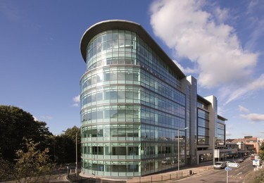 High Street RH1 office space – Building external