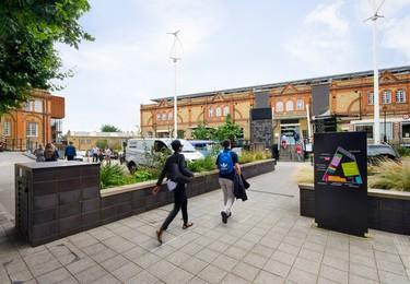 Brixton Road SE11 office space – Building external