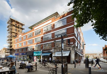 Pine Street EC1 office space – Building external
