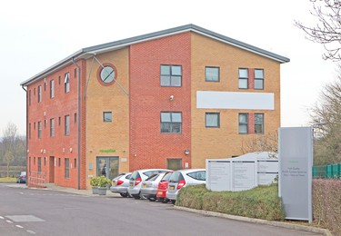 Caxton Close SP10 office space – Building external